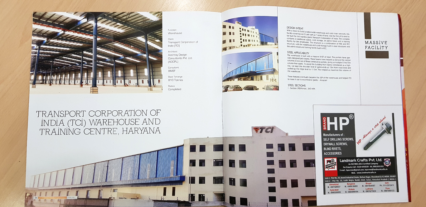 Transport Corporation of India (TCI) Warehouse and Training Centre